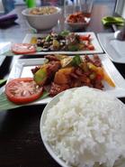 Vegetarisch-Chinees eten