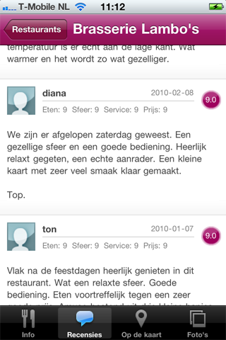 Recensies